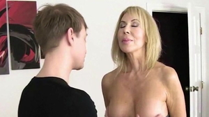 Young MILF Erica Lauren humiliation striptease HD