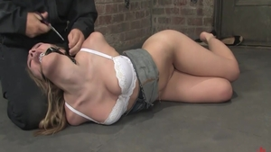 Fetish tied up together with babe Annette Schwarz