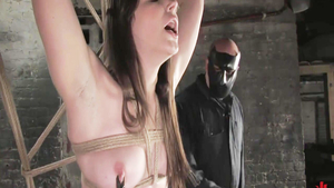 Crazy fingering in the company of long legs chick Bobbi Starr