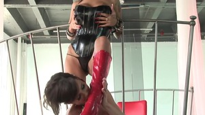 Very kinky Veronica Avluv girl playing with sex toys video