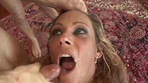 Threesome together with very hot stepmom