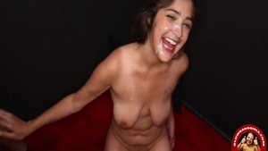Busty couple Mandy Meadows feels the need for gagging