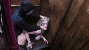 Blonde Rebecca More feels the need for hard ramming in HD