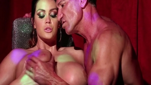 Babe Alison Tyler receiving facial cum loads
