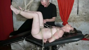 BDSM along with french housewife