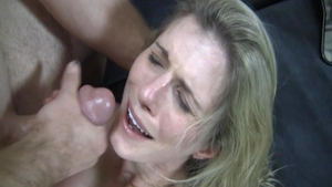 Cory Chase cum on face