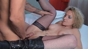 Ramming hard together with MILF