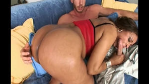 Sex scene along with sexy stepmom Maya Gates