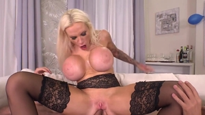 Angel Wicky beside mature Sophie Anderson gangbang