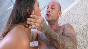 Slamming hard with petite asian babe Mike Angelo