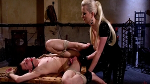 Fetish femdom with super hot mistress Cherry Torn