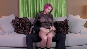 Tattooed redhead hard blowjobs
