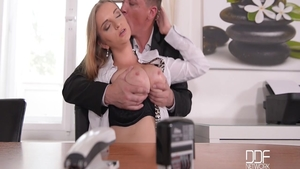 Steve Holmes gets a good fucking in office