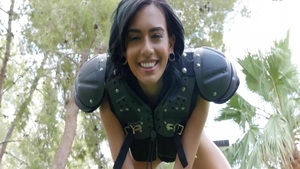 Janice Griffith in hardcore POV blowjob