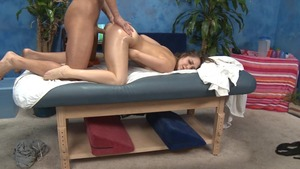 Massage Session With banging And Facial ejaculation