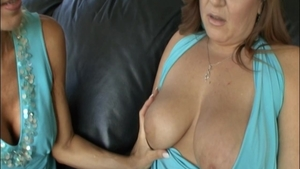 Big boobs Erica Lauren mature pussy licking video
