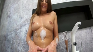 Luscious roommate butt pounded