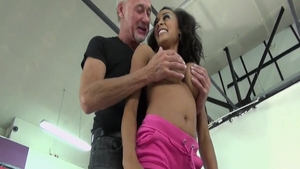 Hard sex together with young Alyssa Divine & Ben Dover