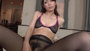 Japanese maid fetish receiving facial cum loads