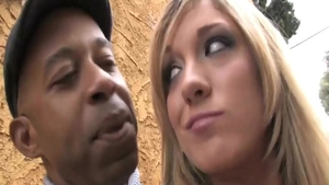Fucking hard with ghetto girl Abbey Brooks