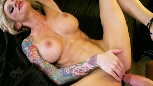 Big ass blonde Sarah Jessie hard getting smashed very nicely