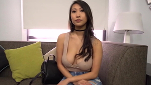 Tits fucking at castings asian in HD