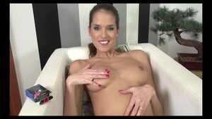 Solo Silvie Deluxe european babe shaved wearing panties toys