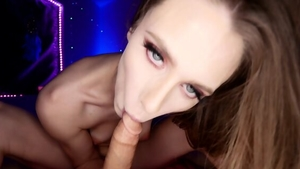 Cumshot scene escorted by naughty hardcore Naughty Girl