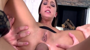 18 yr old Foxy Di in company with Christian Clay pounding