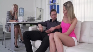 Big ass very hot babe Erik Everhard rough handjob