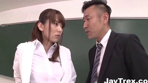 Nailing together with big tits japanese mature Yui Hatano