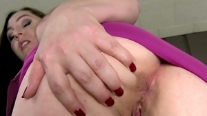 Sex scene accompanied by horny mature