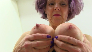 Teasing busty english Gilly Sampson