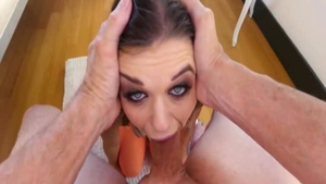 Long legs babe Anastasia Rose has a passion for hard pounding