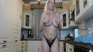 Super hot housewife feels up to slamming hard