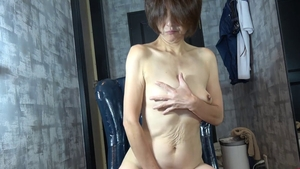 Japanese mature sex with toys HD
