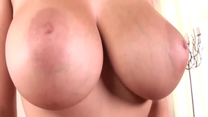 Big boobs Gianna Michaels masturbating in panties