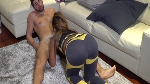 Bubble butt asian chick desires real sex in panties