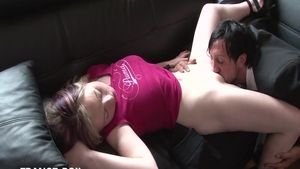 Doggy in taxi escorted by very sexy hotwife