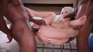 Rough fucking next to blonde hair Elsa Jean