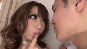 Hard pounding together with large boobs asian brunette