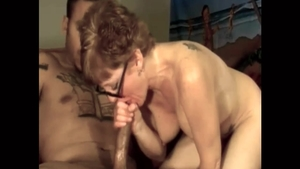 Hard ramming alongside young amateur