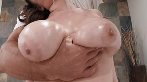 Raw plowing hard in company with gorgeous mature Alex Chance
