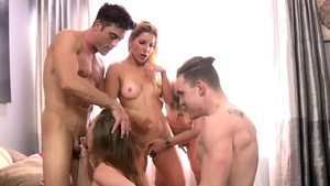 Ashley Fires group sex