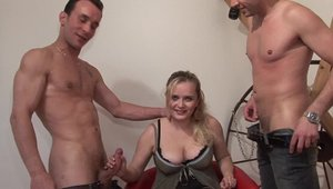 Loud sex alongside perfect french blonde hair