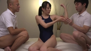Very kinky asian oiled competition in HD