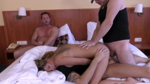 Cum in mouth at the audition russian