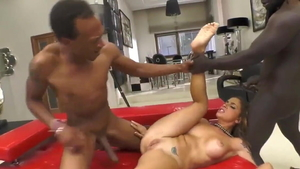 Malena Nazionale and Freddy Gong interracial sex