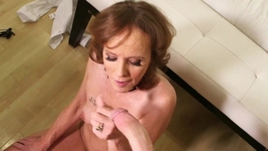 Nailed rough escorted by mature