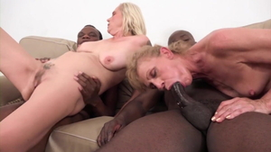 Young being pounded by BBC guy